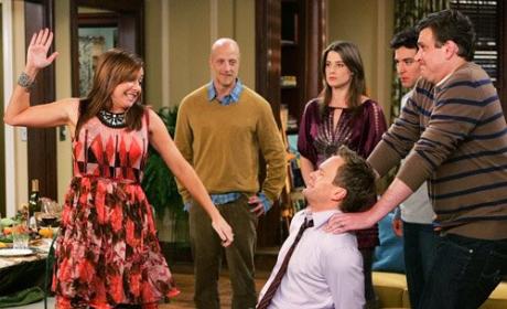 """How I Met Your Mother Review: """"Slapsgiving 2: Revenge of the Slap"""""""