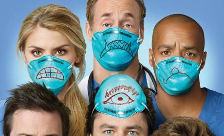 Scrubs Season Nine Poster, Episode Pics