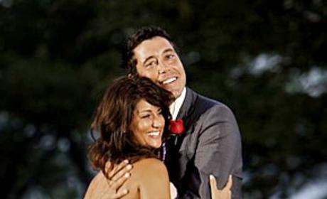 Jillian Harris and Ed Swiderski