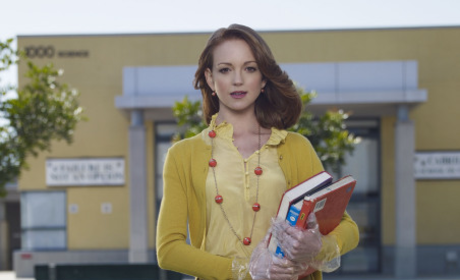 Jayma Mays: No Clue What Happens Next on Glee!