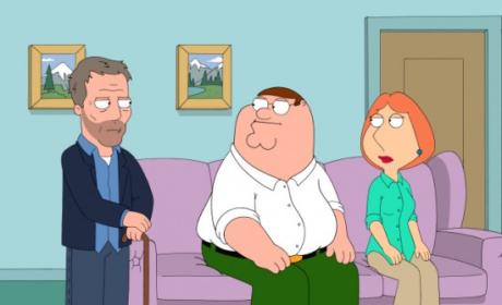 Dr. House on Family Guy