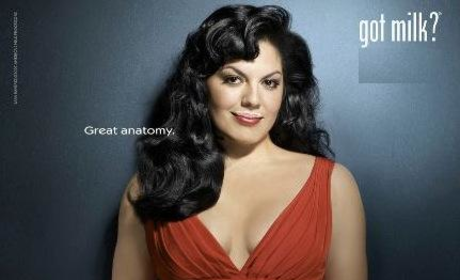 "Sara Ramirez in ""Got Milk?"" Campaign"