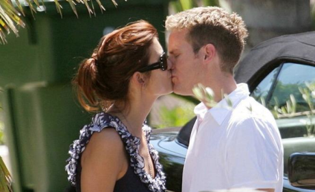 Kate Walsh Kisses Alex Young