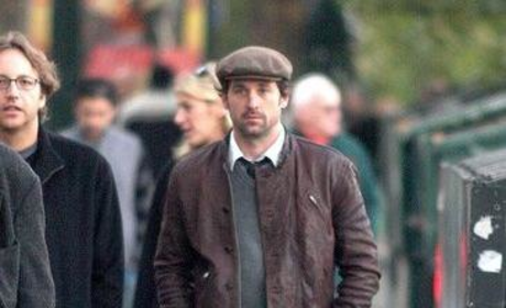 Patrick Dempsey Strolls Through Paris