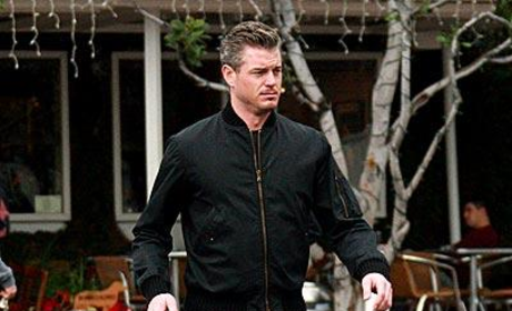 Eric Dane Does Some Last-Minute Shopping