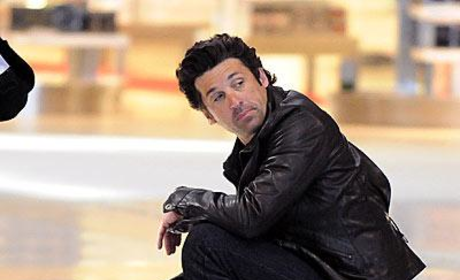 Patrick Dempsey Waiting to Take Off