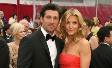 Patrick and Jillian Dempsey at the Academy Awards