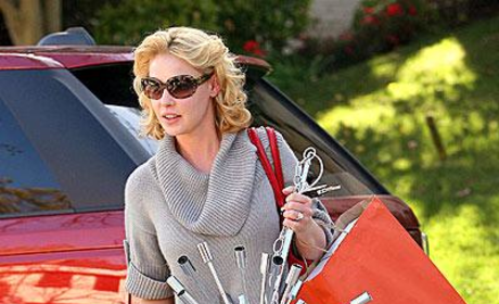 Katherine Heigl Lights Up Hollywood