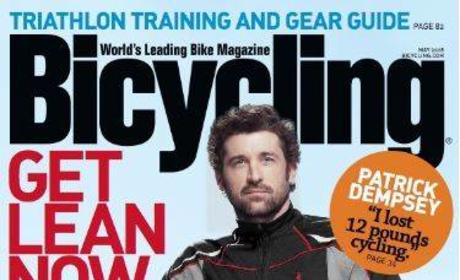 Patrick Dempsey Enjoys Bicycling, Too