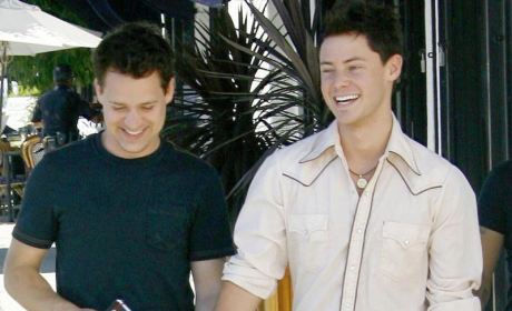 All Smiles: T.R. Knight and Boyfriend