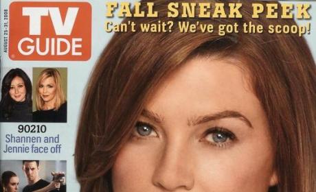 Ellen Pompeo on TV Guide Cover
