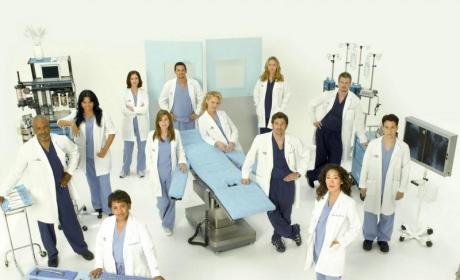 Grey's Anatomy Season Five Cast Pictures