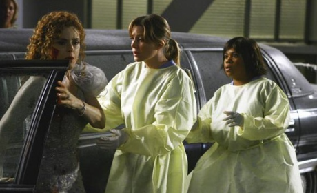Meredith and Miranda on the Scene