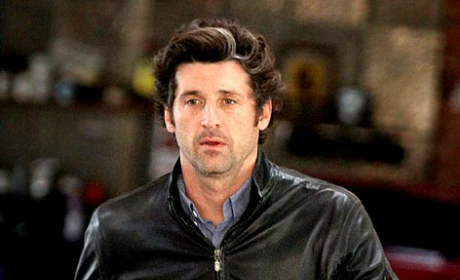 Patrick Dempsey Drops Off the Wheels