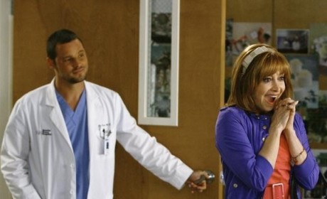 Alex with Izzie's Mother