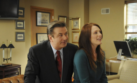 Julianne Moore on 30 Rock