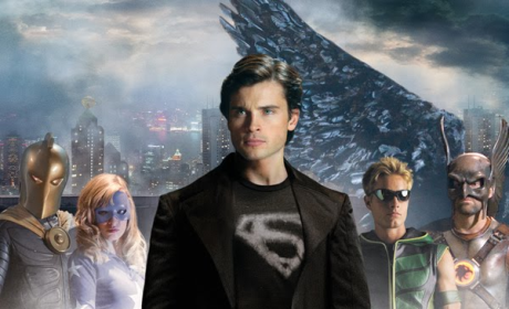 """Smallville Poster, Trailer for """"Absolute Justice"""""""