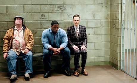 Sheldon in Jail