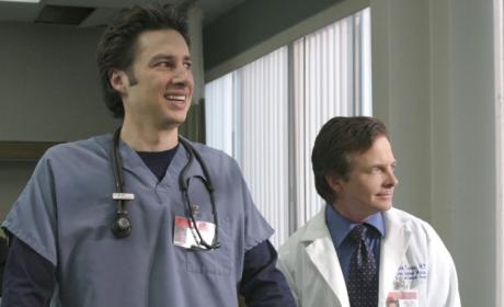 Michael J. Fox on Scrubs