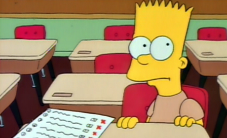 Bart Gets an F Pic