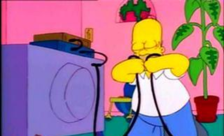 Homer Steals Cable