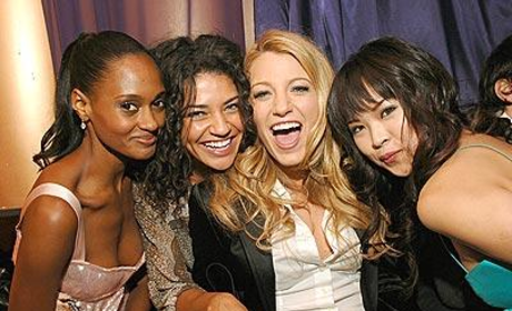 A Photo of the Gossip Girl Girls