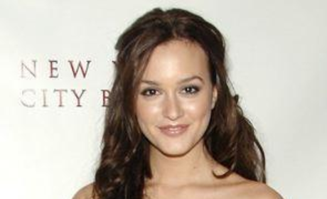 Leighton Meester at the N.Y. City Ballet