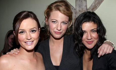 A Blake, Leighton and Jessica Szohr Sighting!