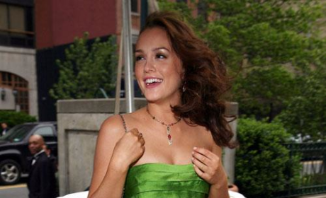 Leighton Meester Does Dior