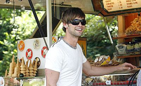 Chace Crawford Does London