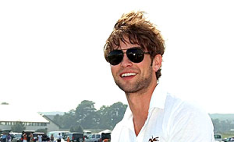 Chace Crawford Hosts Polo Event