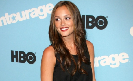 Leighton Meester Attends Entourage Premiere