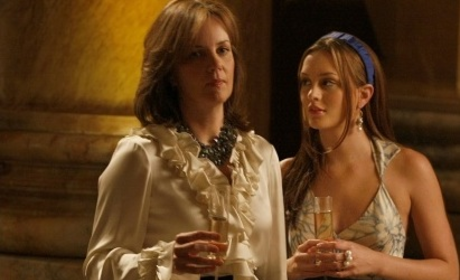 Eleanor and Blair Waldorf