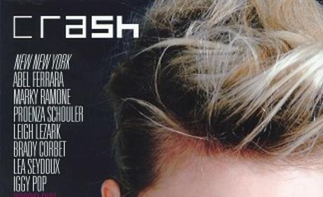 Taylor Momsen in Crash Magazine
