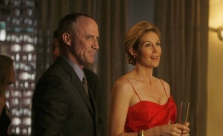 Lily and Bart Bass