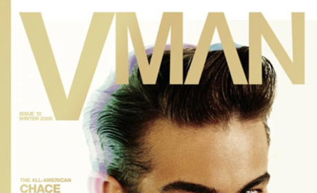 Chace Crawford Covers V Man
