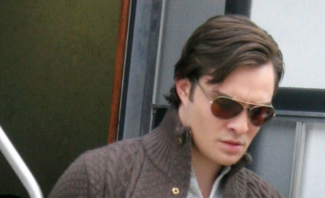 Just Another Day at the Office For Ed Westwick