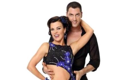 Maksim Chmerkovisky and Debi Mazar