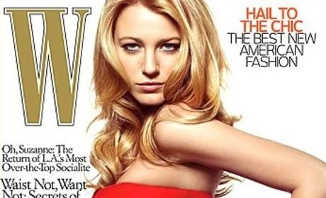 Blake Lively: W Magazine Cover Girl