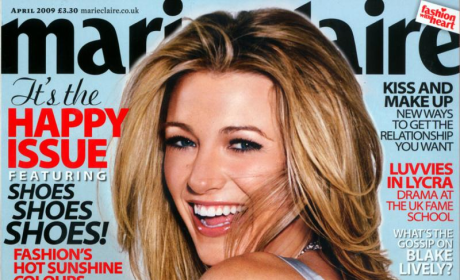 Blake Lively: Marie Claire UK Cover
