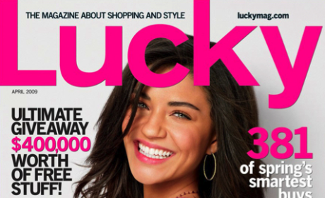 Jessica Szohr in Lucky Magazine