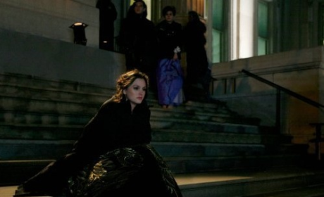 Alone on the Steps