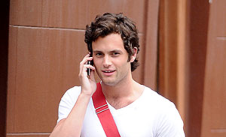 Penn Badgley: Clean-Shaven, Handsome