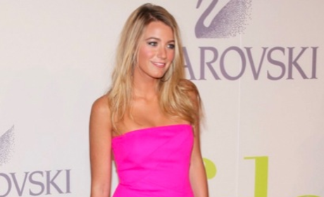 Blake Lively is (Very) Pretty in Pink