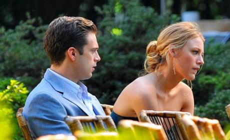 Blake Lively, Sebastian Stan Film Gossip Girl in Brooklyn