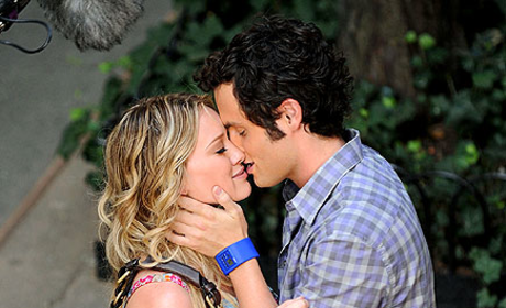 Gossip Girl Pictures: Penn Kisses Hilary