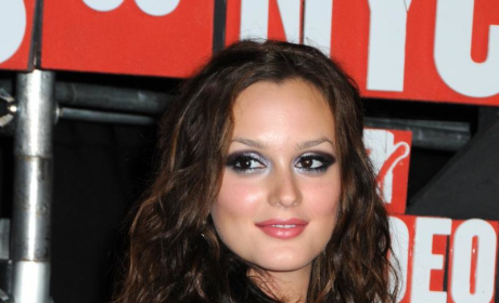 Leighton Meester Talks About Chuck's Kiss, Lady Gaga
