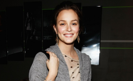 Leighton Meester Talks Fashion, Music