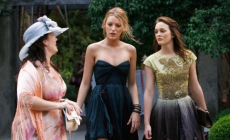 Serena, Blair and Dorota