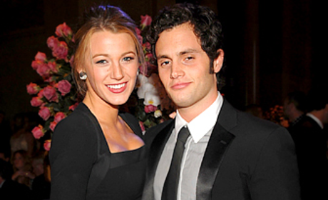 Blake Lively and Penn Badgley Have a Ball